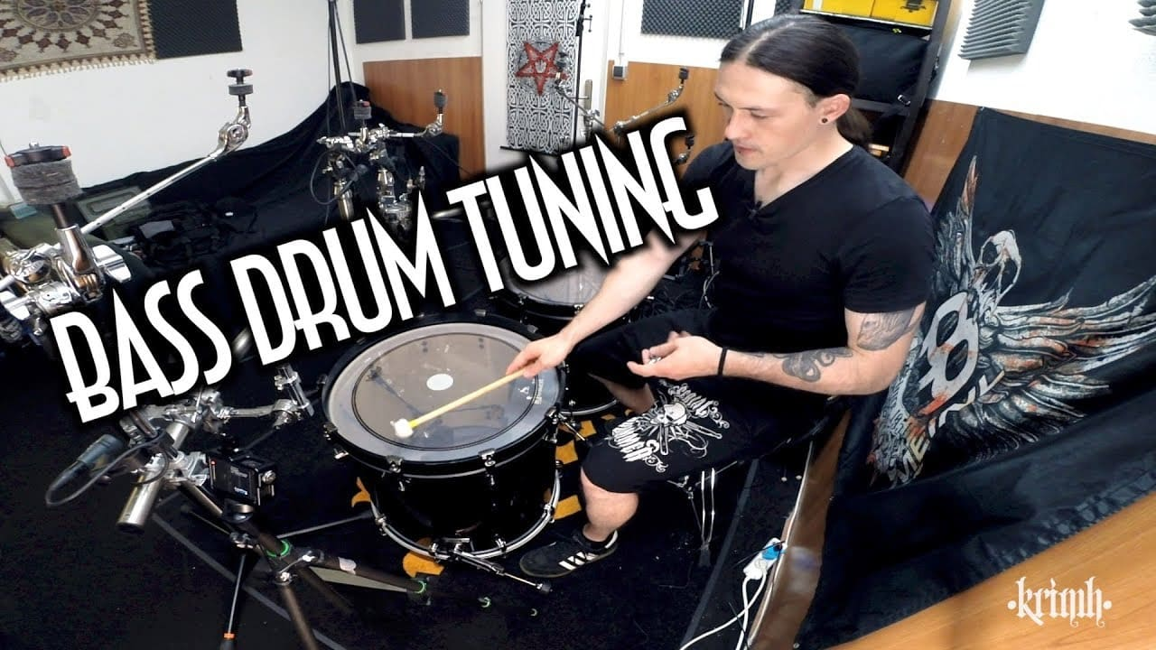 Krimh – Tuning your bassdrum (DIY/HOW-TO)